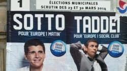 La campagne de pub d'Europe 1 sur les panneaux électoraux ne passe