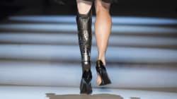 Amputee Runner Models At Toronto Fashion