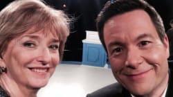Anne-Marie Dussault et Sébastien Bovet font un «selfie». Voici le meilleur du