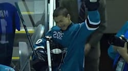 WATCH: Teen Moved To Tears When His Hockey Dream Comes