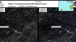 Deux possibles débris du vol MH370 repérés au large de