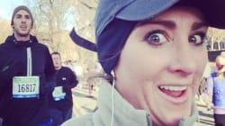Elle photographie les beaux gosses du semi-marathon de New York pendant sa