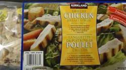 Listeria: rappel de languettes de poitrine de poulet Kirkland