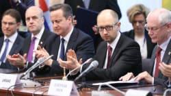 Avec quatre mois de retard, l'Ukraine et l'UE signent enfin leur