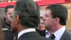 Valls rappelle à l'ordre un pompier qui refuse de lui serrer la