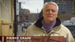 Pierre Craig en congé forcé après un