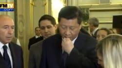 Le président chinois goûte du fromage, pas sa