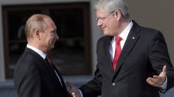 Harper: Putin Wants To Be A