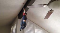 Un papa transforme les vidéos de son fils en films d'action