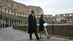 Obama al Colosseo