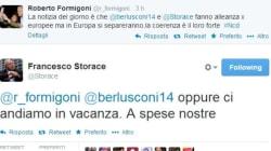 Formigoni e Schifani vs Storace e Gasparri, che rissa su twitter!