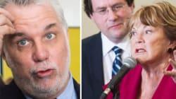 Charte: Philippe Couillard accuse le PQ d'être «machiavélique»