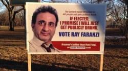 Fake Toronto Election Signs Poke Fun At Rob
