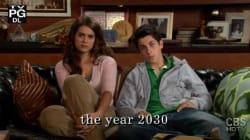 Mira cómo han cambiado los hijos de Ted Mosby (sin