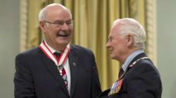Former B.C. Premier Splits With