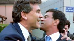 La relation amour-haine de Valls et Montebourg en 5