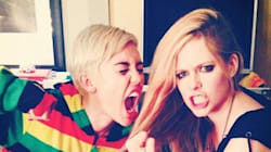 Miley, Avril Battle For Canada's