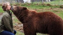 Vancouver Canuck Is Kissing A Bear, Not Killing One This