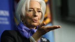 Lagarde mette in guardia sulla bassa inflazione e chiede a Draghi di