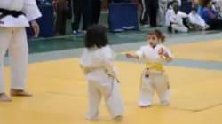 Le combat de judo le plus mignon du monde