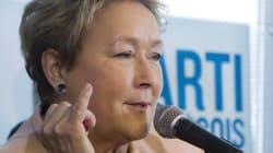 Pauline Marois termine sa campagne en évoquant son avenir politique