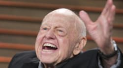Mickey Rooney, légende hollywoodienne, est