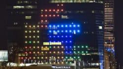 Tetris si gioca sul grattacielo