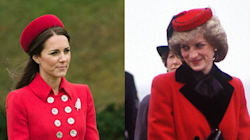 Kate's Outfit Echoes Princess Diana's Style 30 Years