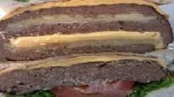 Un burger dans un burger dans un