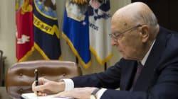 Napolitano firma il Ddl di riforma
