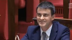 La réaction de Valls quand Jacob le compare à