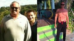 Man's Dramatic Weight Loss Starting At 300