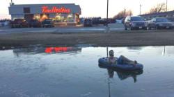 L'hiver a été dur? À Winnipeg c'était pire