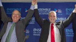 Couillard réunit ses candidats et députés pour célébrer la