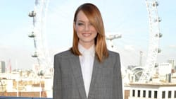 Emma Stone's Menswear Look Misses The