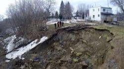 Glissement de terrain à Saint-Jude: plus de peur que de mal
