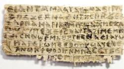 Le papyrus mentionnant la femme de Jésus n'est pas un