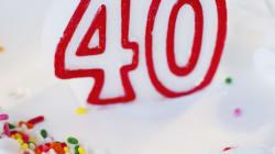 39 cose che ho imparato dopo i 30