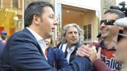 Mentre Berlusconi crolla, Renzi prende il suo posto al Salone del Mobile di