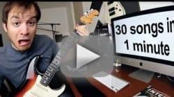 Musica, 30 brani in un minuto: è possibile?