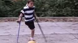 Una storia unica: Nico Calabria, il calciatore con una gamba sola (FOTO,