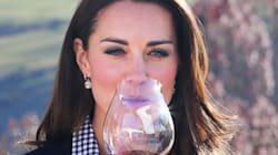 Kate Middleton Looks Chic While Getting Her Drink