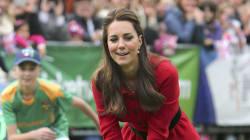 Kate Wears High Heels For Cricket