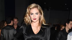 Kate Upton Is Smoking Hot In Tight Black