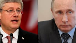 Putin Fires Back At Canada's