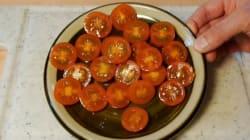 La meilleure technique pour couper des tomates cerises