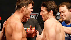 UFC: Bisping et Kennedy se narguent à la pesée de