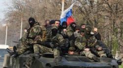 Des blindés sous pavillon russe circulent dans l'Est de