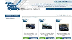 Auto blu, in arrivo su ebay 8 Maserati
