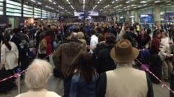 Le trafic de l'Eurostar reprend doucement après une série